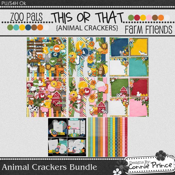Animal Crackers - Bundle