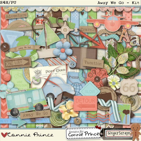 Retiring Soon - Away We Go - Kit by Connie Prince