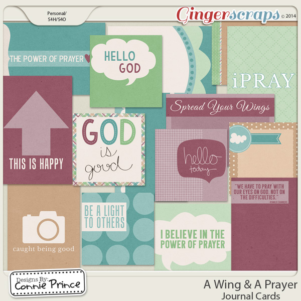 A Wing & A Prayer - Journal Cards