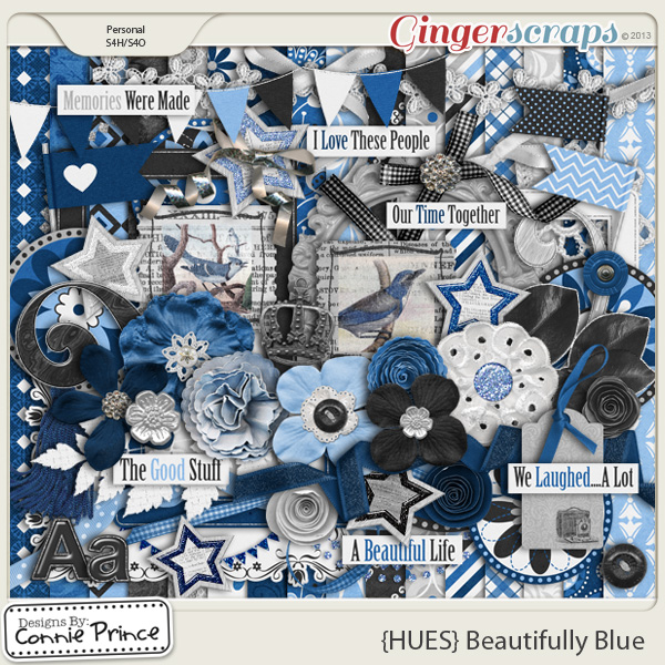 {HUES} Beautifully Blue - Kit