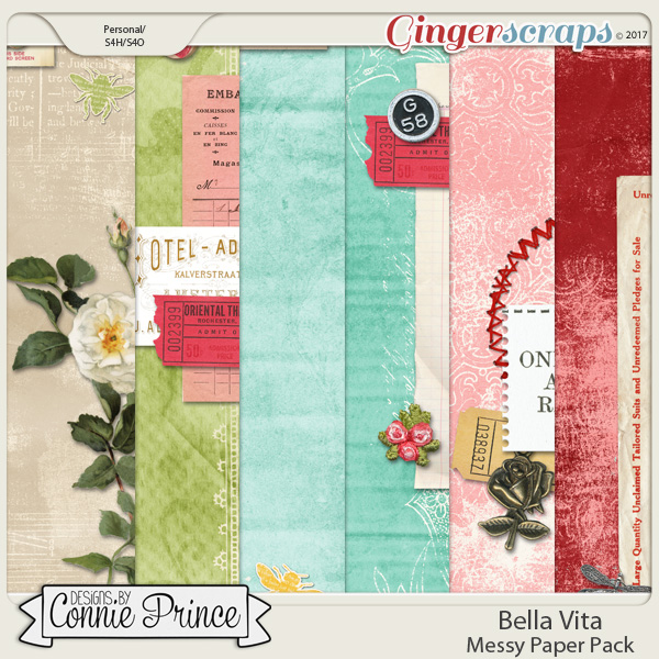 Bella Vita - Messy Papers