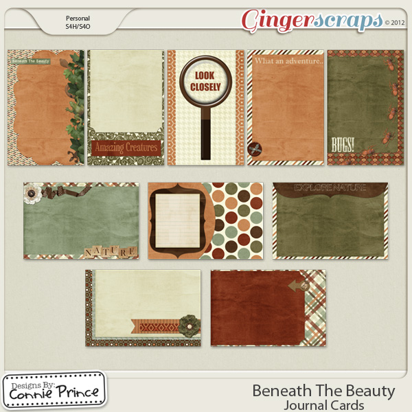 Beneath The Beauty - Journal Cards