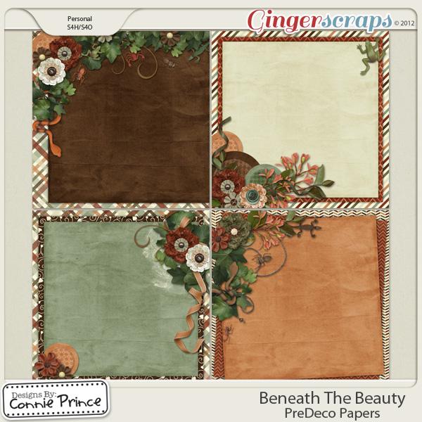 Retiring Soon - Beneath The Beauty - PreDeco Papers