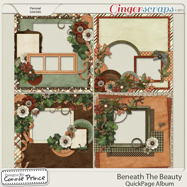 Beneath The Beauty - QuickPage Album