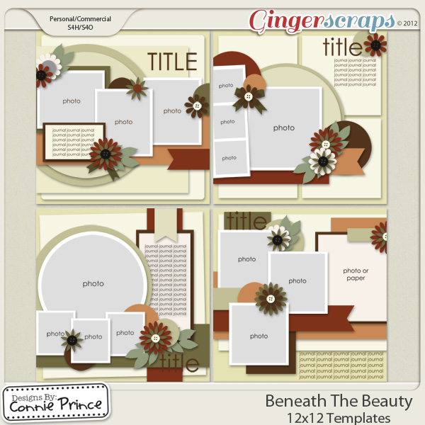 Beneath The Beauty - 12x12 Temps (CU Ok)