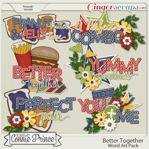Better Together - Word Art