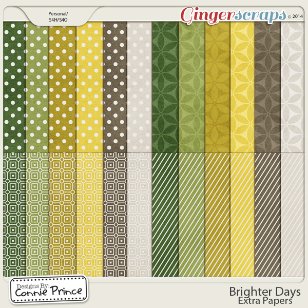 Brighter Days - Extra Papers