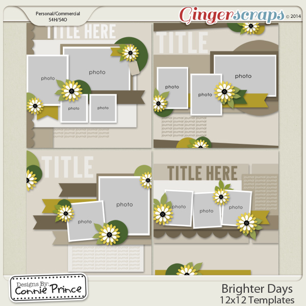 Brighter Days - 12x12 Temps (CU Ok)