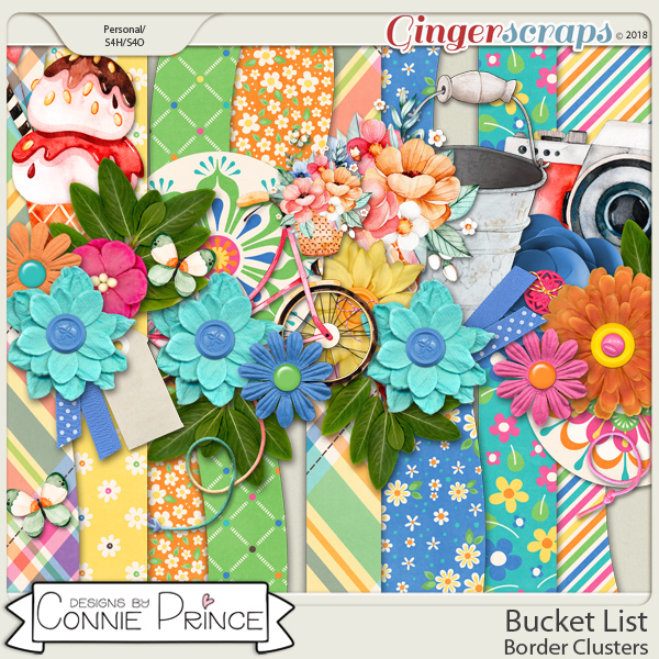 Bucket List - Border Clusters by Connie Prince