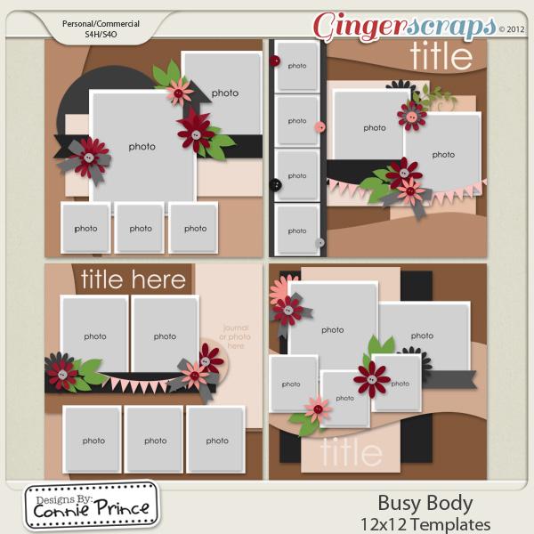 Busy Body - 12x12 Temps (CU Ok)