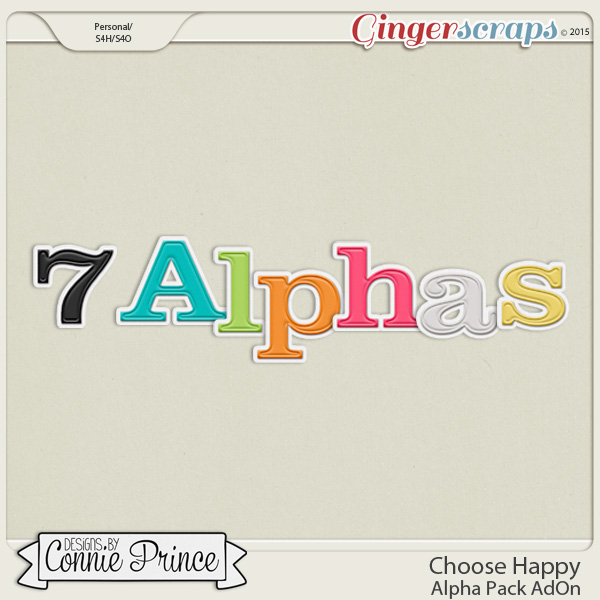 Choose Happy - Alpha Pack AddOn