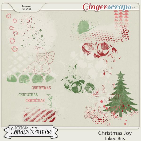 Christmas Joy- Inked Bits