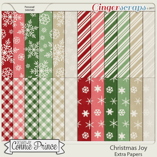 Christmas Joy - Extra Papers