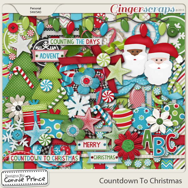 Countdown To Christmas - Kit