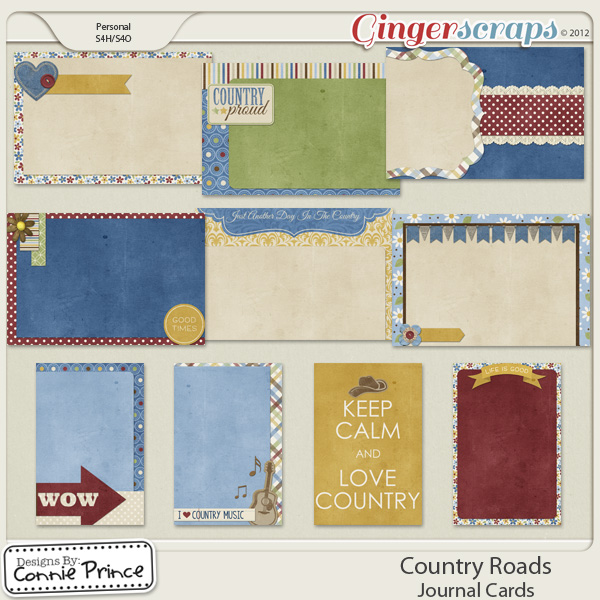 Retiring Soon - Country Roads - Journal Cards