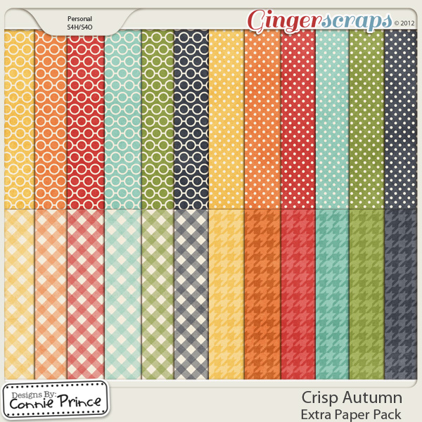 Crisp Autumn - Extra Papers