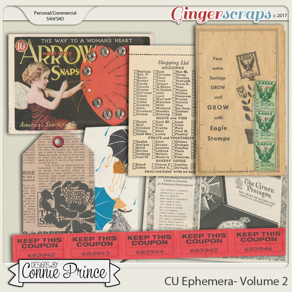 Commercial Use Ephemera Volume 2