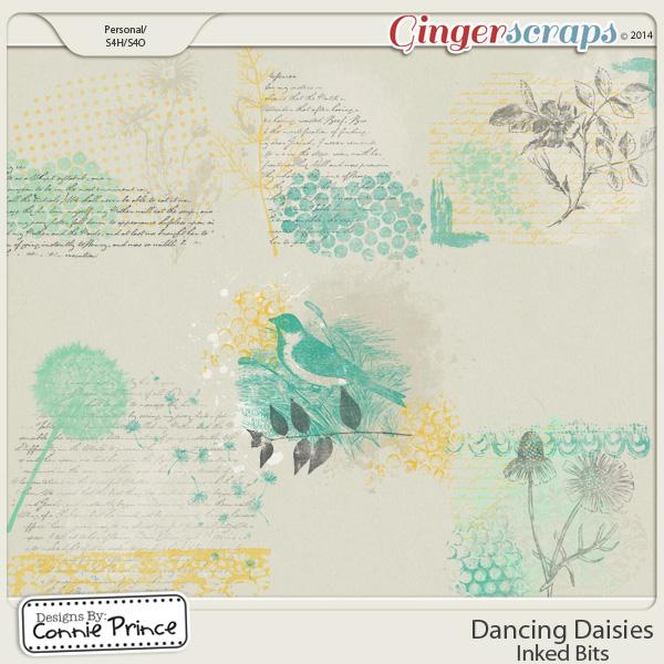 Dancing Daisies - Inked Bits