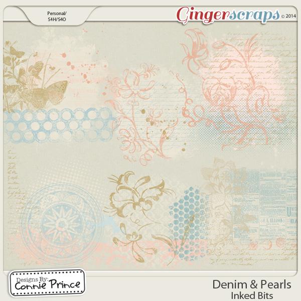 Denim & Pearls - Inked Bits