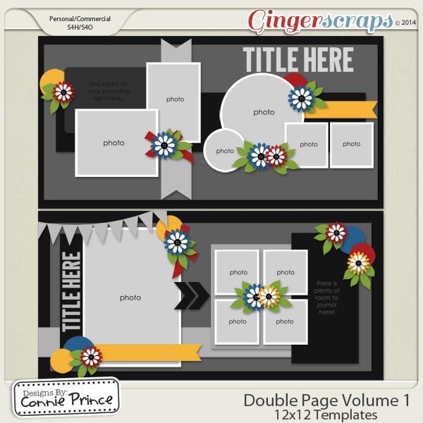 Double Page Volume 1 - 12x12 Temps (CU Ok)
