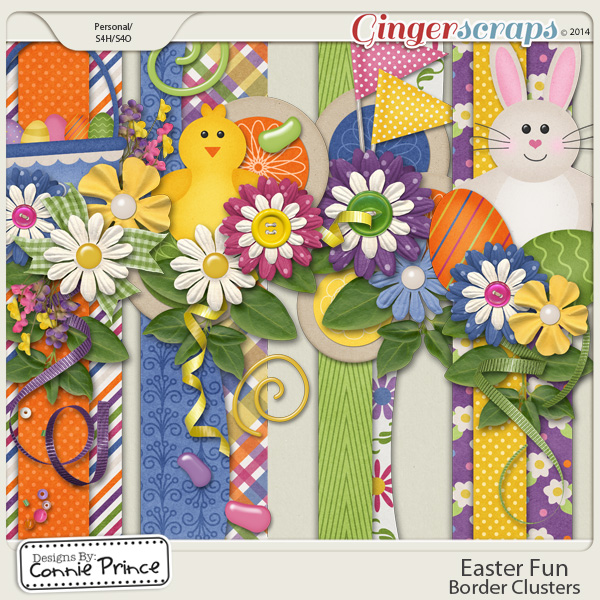 Easter Fun - Border Clusters