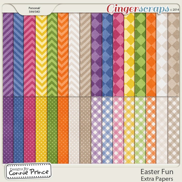 Easter Fun - Extra Papers