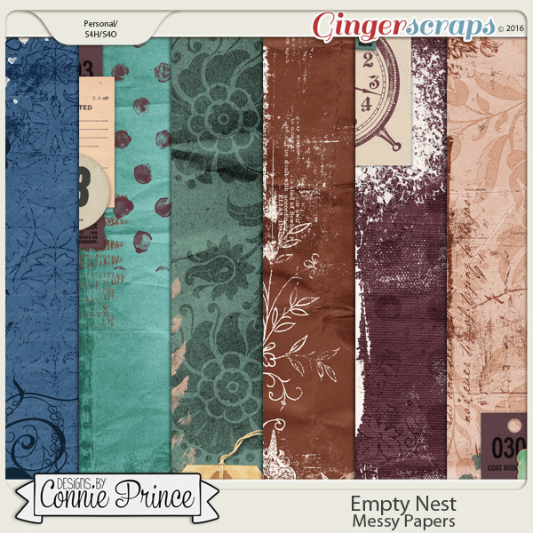 Empty Nest - Messy Papers