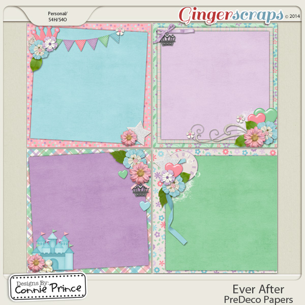 Ever After - PreDeco Papers