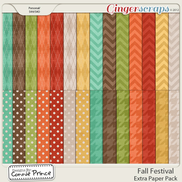 Retiring Soon - Fall Festival - Extra Paper Pack