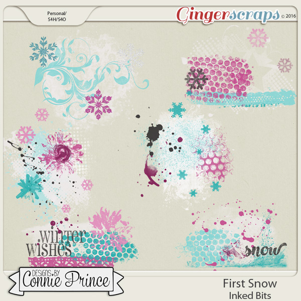 First Snow  - Inked Bits