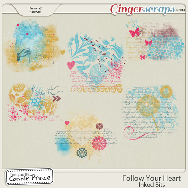 Follow Your Heart - Inked Bits