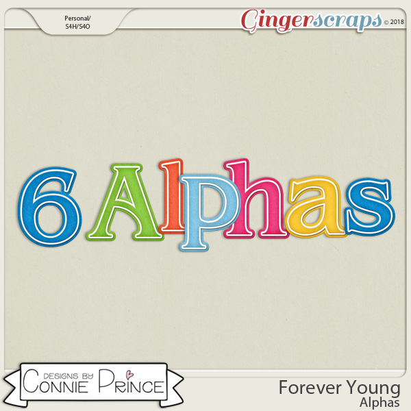 Forever Young- Alpha Pack AddOn by Connie Prince