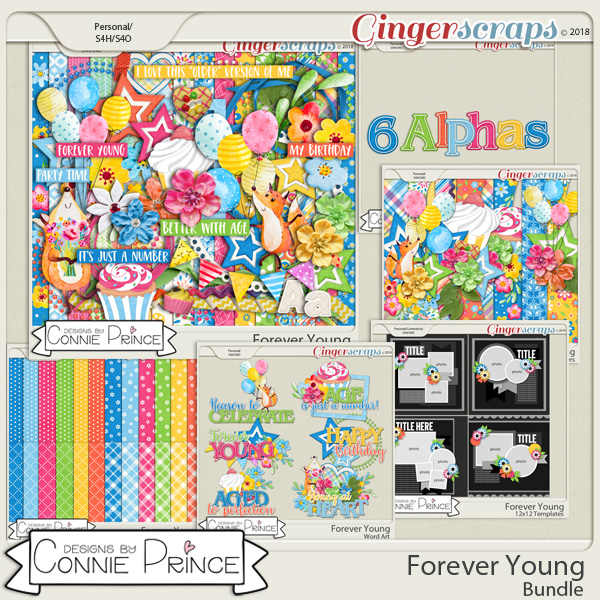 Forever Young- Core Bundle by Connie Prince