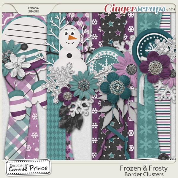 Frozen & Frosty - Border Clusters
