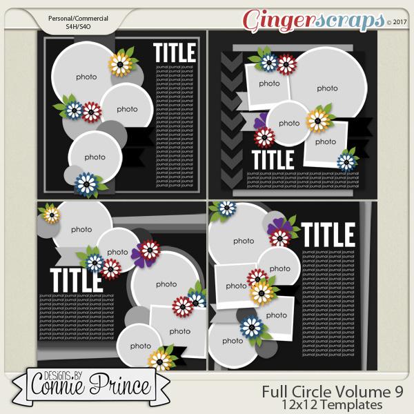 Full Circle Volume 9 - 12x12 Temps (CU Ok)