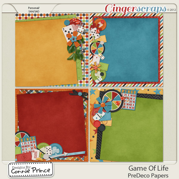 Retiring Soon - Game Of Life - PreDeco Papers