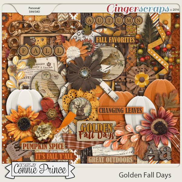 Golden Fall Days - Kit