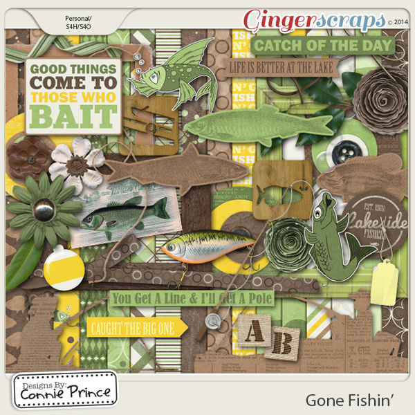 Gone Fishin' - Kit