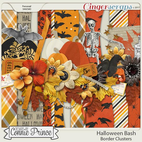 Halloween Bash - Border Clusters