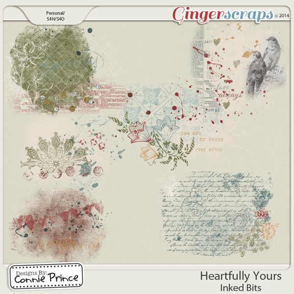 Heartfully Yours - Inked Bits