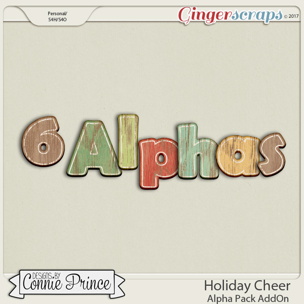 Holiday Cheer - Alpha Pack AddOn by Connie Prince