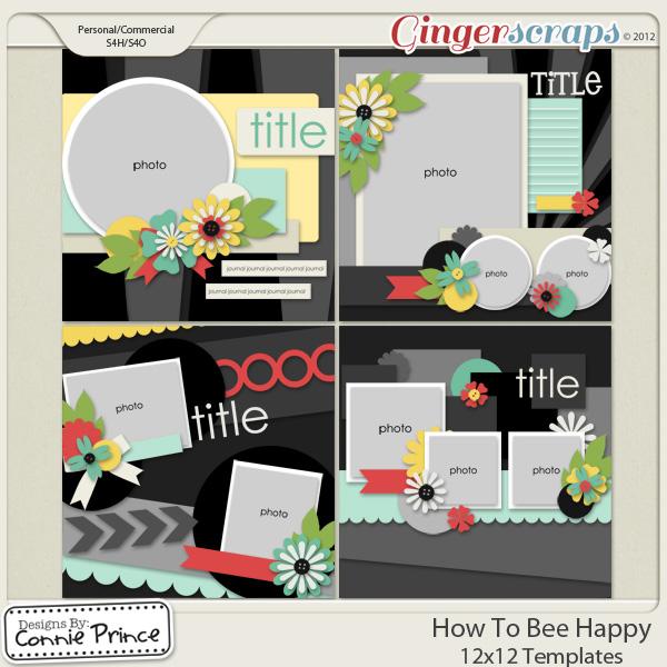 Retiring Soon - How To Bee Happy - 12x12 Temps (CU Ok)