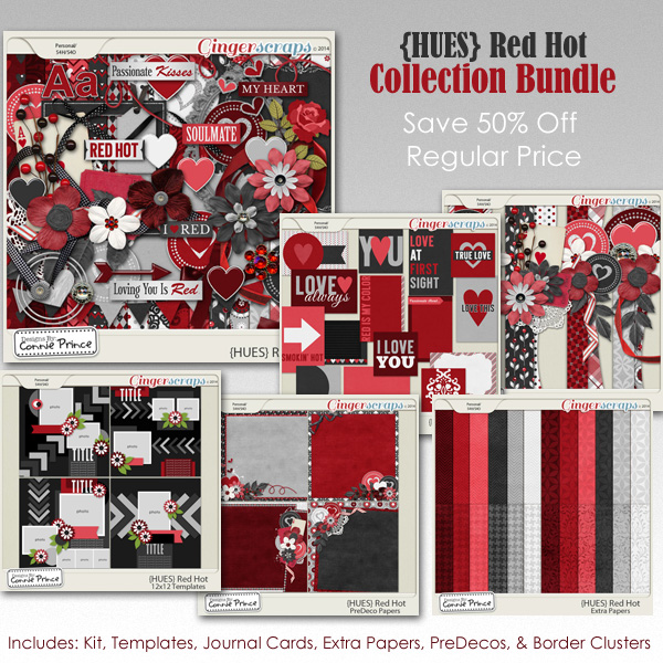 {HUES} Red Hot - Bundle