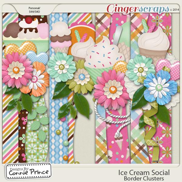 Ice Cream Social - Border Clusters