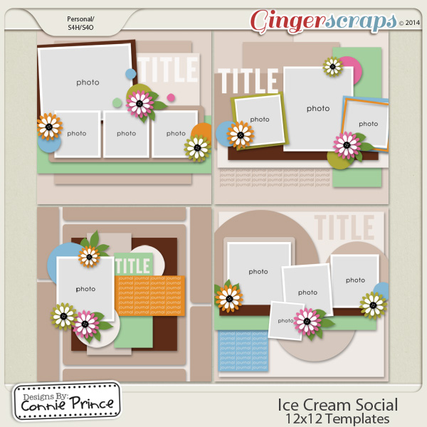 Ice Cream Social - 12x12 Temps (CU Ok)