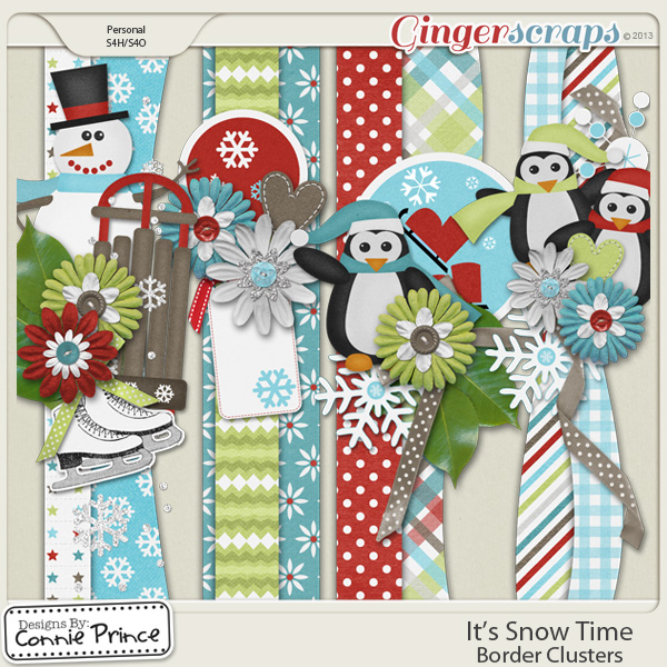 It's Snow Time - Border Clusters