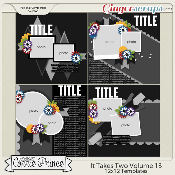 It Takes Two Volume 13 - 12x12 Temps (CU Ok)