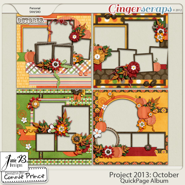 Project 2013:  October - QuickPages