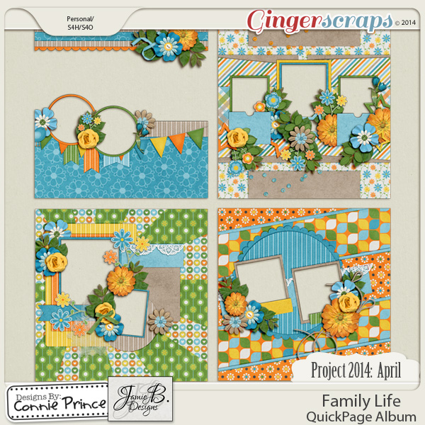 Project 2014 April:  Family Life - QuickPages