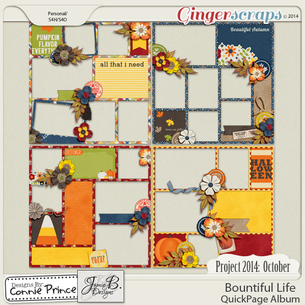 Project 2014 October: Bountiful Life - QuickPages